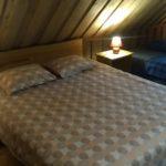 Marknatalu Saunamaja sinine magamistuba kuuele