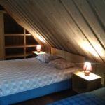Marknatalu Saunamaja sinine magamistuba